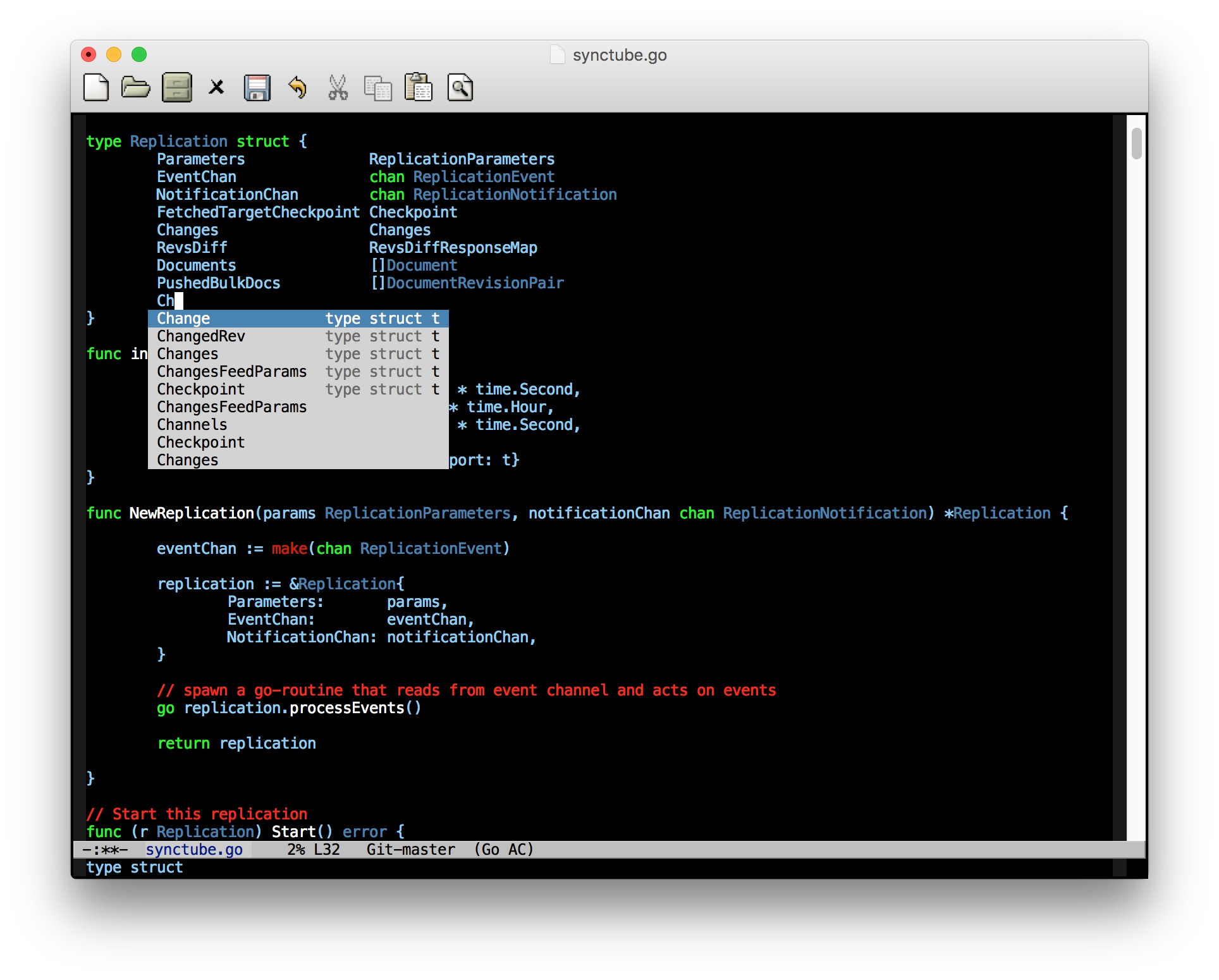 Configure Emacs as a Go editor from scratch - Seven Story